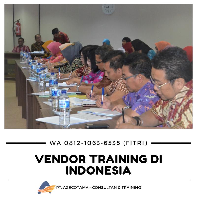vendor training di jakarta